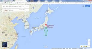 Narita Airport Map Google Maps Nihongojapango