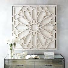 wood carved decorative wall plaque whitewashed wood wall