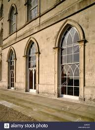 Gothic Revival House View Of The Gothic Revival Windows In The North East Front Of The