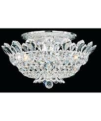 chandeliers flush mount crystal chandelier with drum shade semi