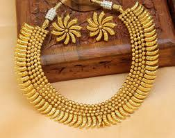 gold plated necklace set images Buy gorgeous designer gold plated necklace set online jpg