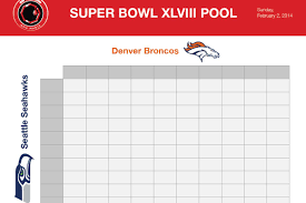 super bowl squares sheet 2014 download printable broncos vs