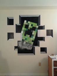 Minecraft Bedroom Decals by 22 Best Minecraft Bedroom For My Boys Images On Pinterest
