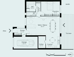 plan de maison plein pied gratuit 3 chambres 27 plan maison plain pied 5 chambres décoration de maison
