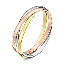 russian wedding rings theia unisex heavy weight 3 bands russian wedding ring co