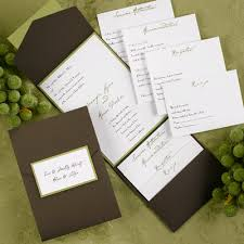 wedding pocket invitations wedding pocket invitations marialonghi