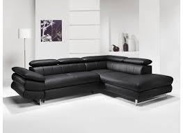 canap d angle simili cuir noir canapé d angle solution avec fonction lit similicuir noir weba meubles