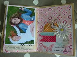 Couverture Album Photo Scrapbooking Un Mini Album Vite Fait Bien Fait Scrap U0026 Cie
