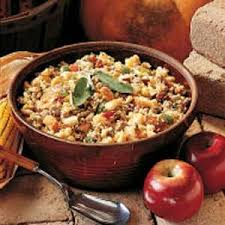 Southern Stuffing Recipes For Thanksgiving Deluxe Corn Bread Stuffing Recipe Taste Of Home