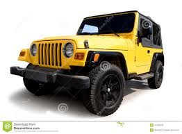 jeep yellow yellow jeep stock image image of vehicle automobile 11783273