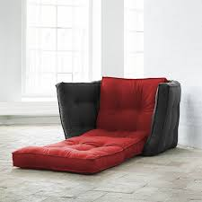 contemporary armchair fabric futon bed dice karup