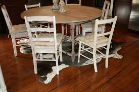 flooring mid century dining chairs with faux sheepskin rug and