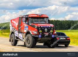 renault dakar chelyabinsk region russia july 11 2016 stock photo 453634126