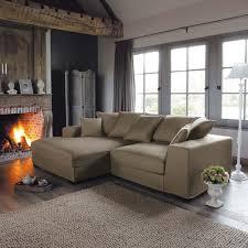 le monde du canapé canapé d angle 4 places fixe taupe bruges maisons du monde 1106