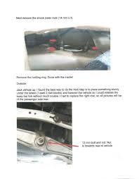 lexus es300 sway bar link ls 460 rear strut replacement tutorial clublexus lexus forum