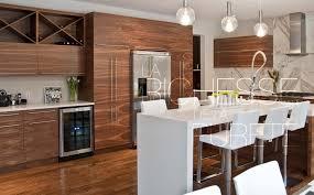 style de cuisine moderne photos fabricant d armoires de cuisines et salles de bain milmonde