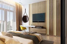 deco mur chambre adulte chambre contemporaine 33 idées déco murale design