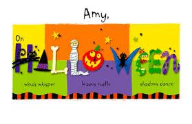 halloween thoughts greeting card halloween printable card
