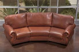 High End Leather Sofas Awesome Curved Leather Sofas With Curved Leather Sofas Custom