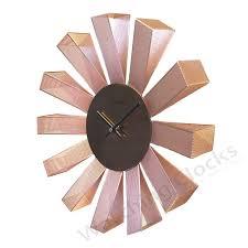 Designer Clock by Designer Copper Mesh Metal Wall Clock