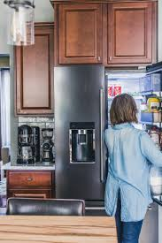 what color cabinets match black stainless steel appliances black stainless kitchen renovation jelly toast