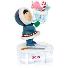 2015 frosty friends hallmark keepsake ornament hooked on