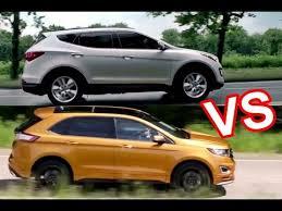 toyota venza vs hyundai santa fe 2015 ford edge vs 2015 hyundai santa fe design