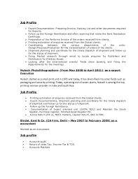 Resume For Packaging Job by Resume Mohit