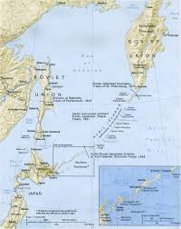 map of the islands map of kuril islands
