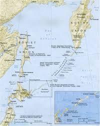 islands map map of kuril islands