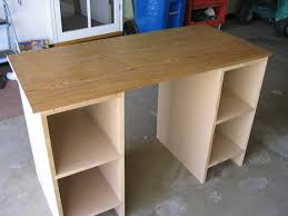 Diy Mdf Desk My New Craft Room The Work Station Work Stations Cubby