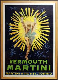 martini rossi logo file leonetto cappiello vermouth martini adv poster 8 1975 da