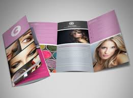 Professional Makeup Artistry Professional Makeup Artist Brochure Template Mycreativeshop