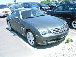 chrysler sports car chrysler crossfire wikipedia