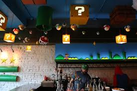 relive your childhood at this super mario bros pop up bar dc