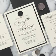 wedding invitation suite valerie wax seal wedding invitation suite all that glitters