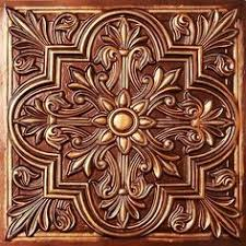 Faux Tin Ceiling Tiles Drop In by Da Vinci Faux Tin Ceiling Tile Drop In 24