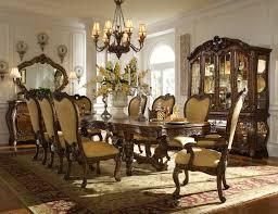 Dining  Surprising Mediterranean Dining Room Design Applying - Fancy dining room