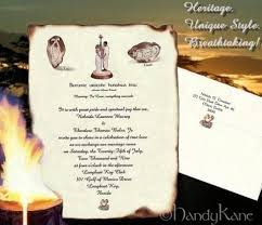 Scroll Invitation Package Scroll Invitation Reception Ticket Rsvp U0026 Thank You Card