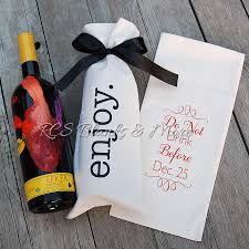 wine bottle gift bags cotton wine bottle gift bag rcs blanks llc