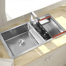faucet for kitchen sink sinks stainless steel nickel brushed kitchen sinks with faucet