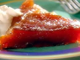tarte tatin cuisine az cast iron skillet apple tarte tatin with bourbon
