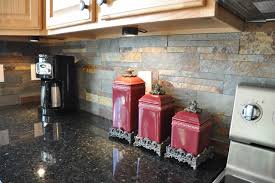 slate backsplash in kitchen uba tuba granite countertop and slate tile backsplash idea