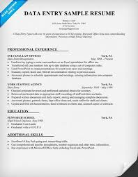 Seek Resume Database Download Data Entry Operator Sample Resume Haadyaooverbayresort Com