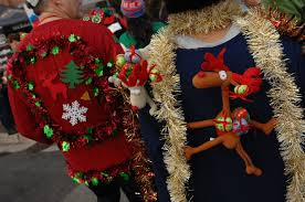 best materials for the perfect ugly christmas sweater charity