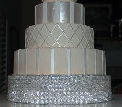 rhinestone cake stand base only