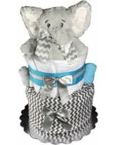 winter bargains on baby shower gift diaper cake for a boy or