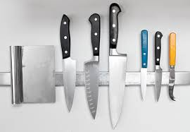 magnetic strips for kitchen knives storage ideas for small kitchens