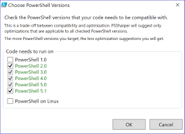 powershell quote list code refactoring