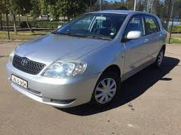 toyota corolla for sale nsw used 2002 2002 toyota corolla ascent seca zze122r hatchback for